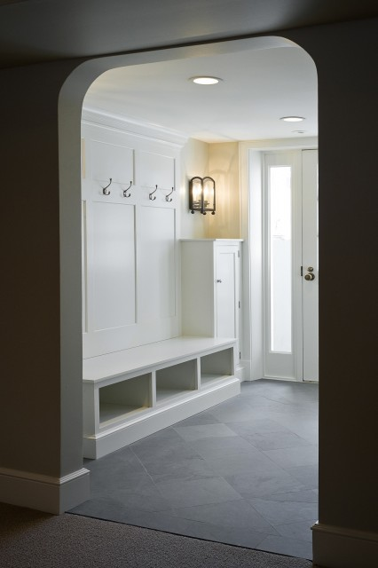 Mud room design traditional laundry room cameo homes Mudroom floor