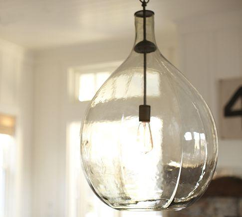 Clift Glass Pendant Pottery Barn