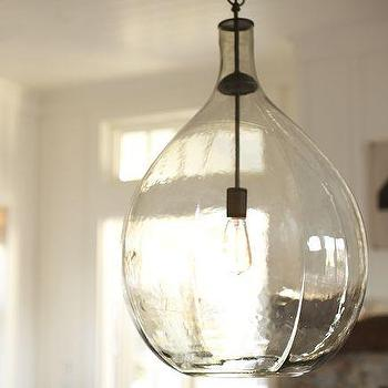Clift Glass Table Lamp Base Eggplant Pottery Barn