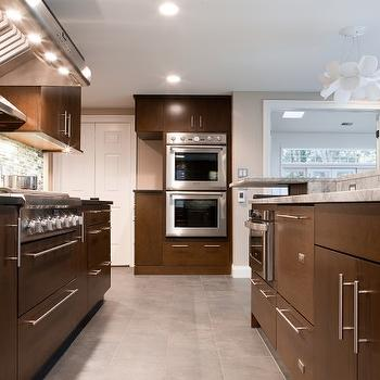 incredible brown color kitchen cabinets | Chocolate Brown Cabinets Design Ideas