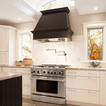 black kitchen hood - Kitchen Hood Ideas