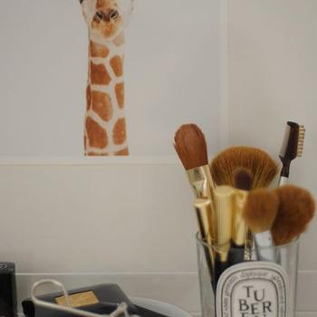 Make-Up Brush Jars, Contemporary, bathroom, Cupcakes and Cashmere