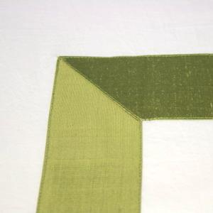 Greek Key Duvet- Green