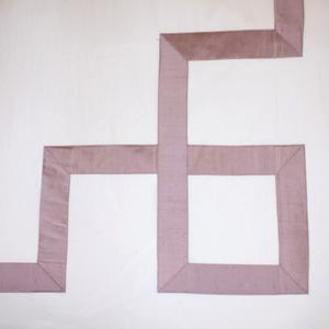 Greek Key Duvet- Purple