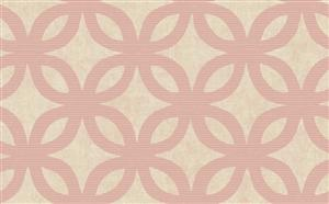 Geometric Wallpaper in Neutrals and Pink by Antonina Vella, Seabrook Designs, Seabrook Wallpaper, BurkeDecor.com