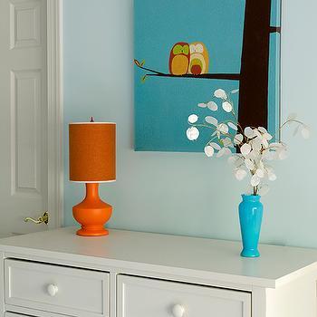 Blue Bedroom Lamp Shade Design Ideas