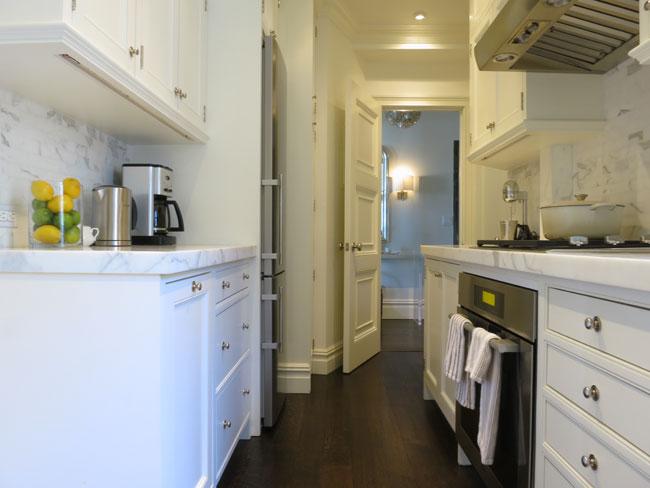 Tiny kItchen Design - Transitional - kitchen - Christina Murphy ...
