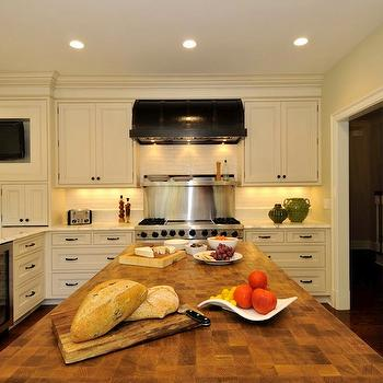 Black Kitchen Hood, Traditional, kitchen, Amazing Spaces