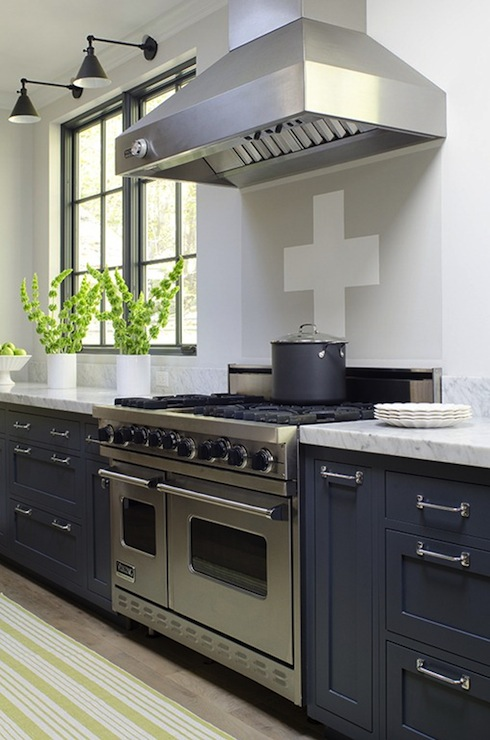 blue kitchen cabinets contemporary kitchen james r salomon photography. Black Bedroom Furniture Sets. Home Design Ideas