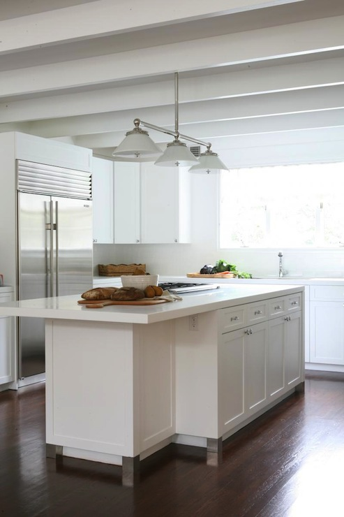 All White Kitchen Design Transitional Kitchen Foley Amp Cox