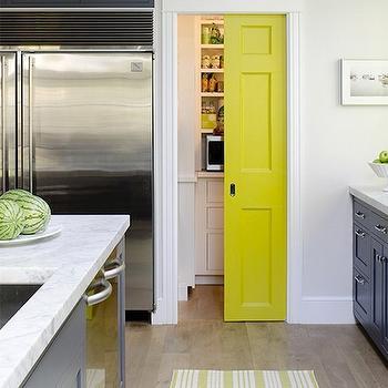 Pantry With Pocket Door Cottage Kitchen Bhg