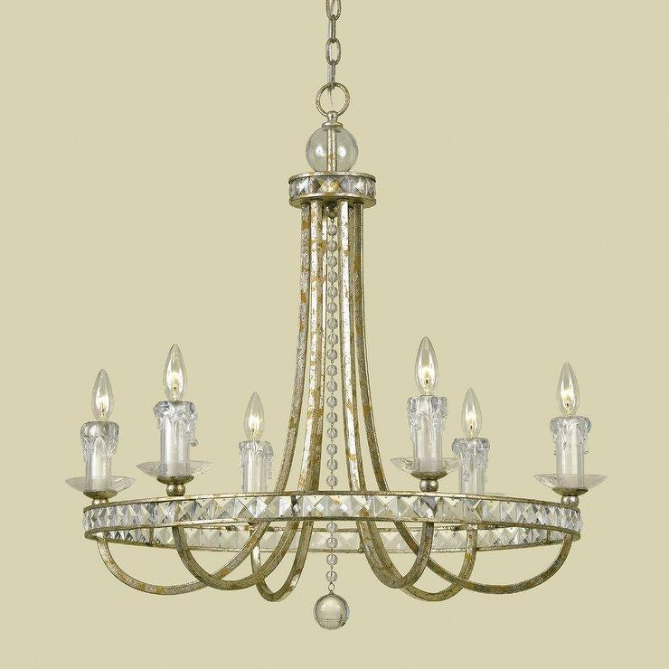 Candice olson 7451 6h 6 light aristocrat chandelier lighting universe aloadofball Choice Image