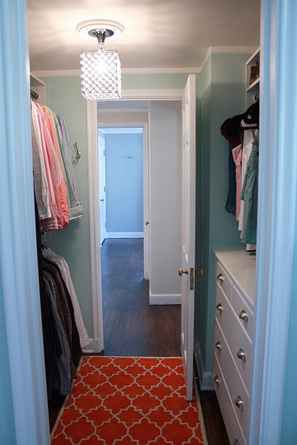 Closet Color Turquoise Turquoise Paint Colors
