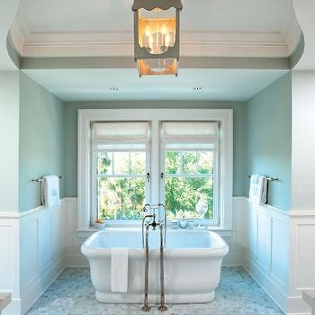 Chair Rail Ideas For Bathroom white bathrooms Bathroom Wainscoting