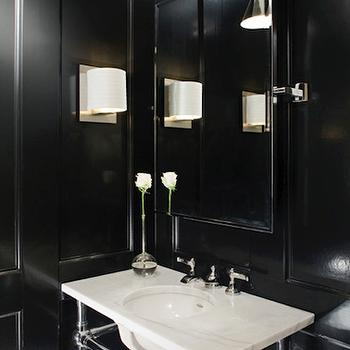 Pivot Powder Room Mirror Design Ideas