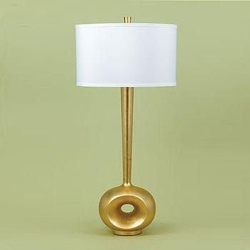 Candice Olson 7425-TL Basie Table Lamp, Gold, Lighting Universe