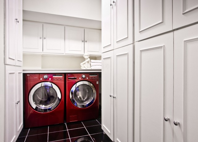 White Front Load Washer And Dryer Design Ideas