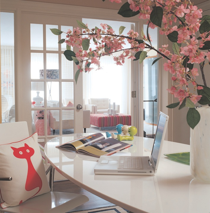 view full size chic office decor