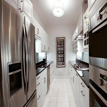 Galley KItchen, Contemporary, kitchen, Naked Decor