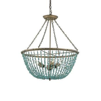 Currey & Company 9765 3 Light Aqaba Chandelier Foyer Light, Lighting Universe