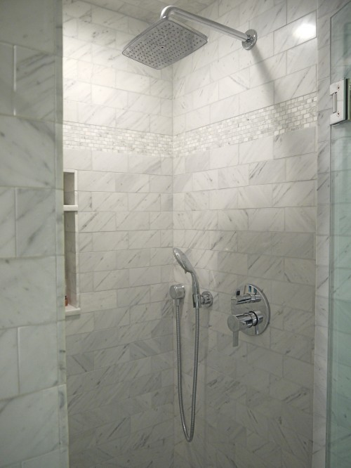 Marble Walk In Shower Design Ideas