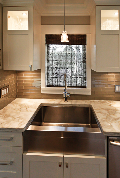 kitchens with glass tile backsplash taupe glass tile transitional kitchen trish 8791