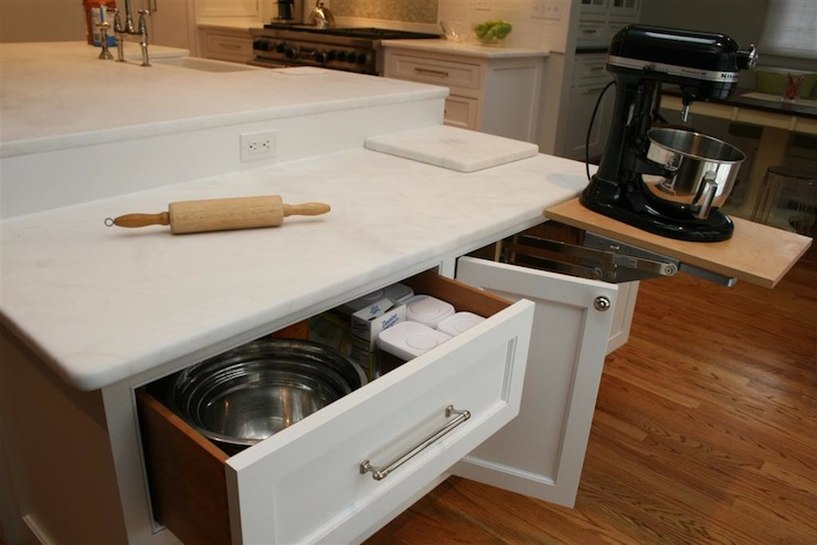 Drop Down Cabinet - Transitional - kitchen - Olga Adler ...