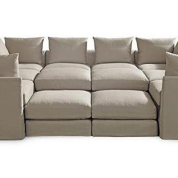 DR. PITT SLIPCOVERED SECTIONAL Available Online ]   Mitchell Gold + Bob  Williams