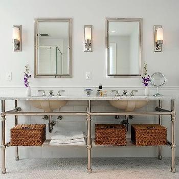 5 Leg Washstand, Traditional, bathroom, Cassia Design