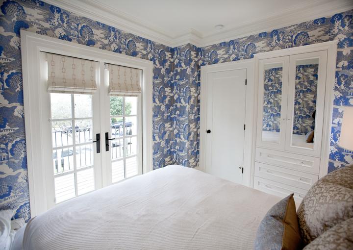 Summer Palace Wallpaper Asian Bedroom Massucco