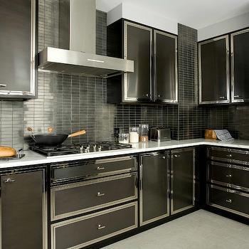 Charmant Black Kitchen Backsplash
