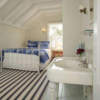 Attic Guest Room, Cottage, bedroom, Schranghamer Design Group