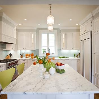 Green Bar Stools, Contemporary, kitchen, Massucco Warner Miller