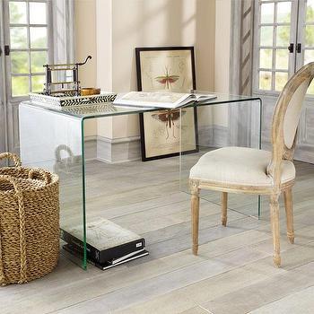 Glass Desk, Console Tables, Desks, & Buffets, Wisteria