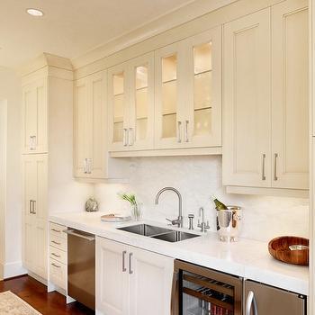 Ivory Kitchen Cabinets, Transitional, kitchen, Palmer Todd