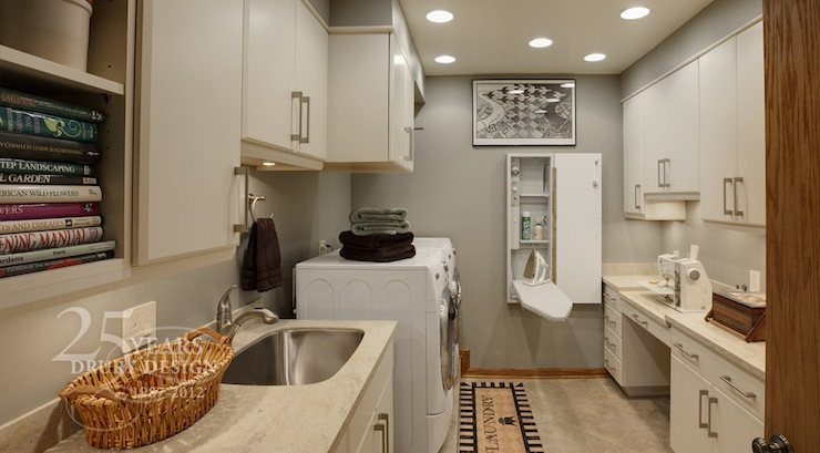 Laundry Room Ironing Board Traditional Laundry Room