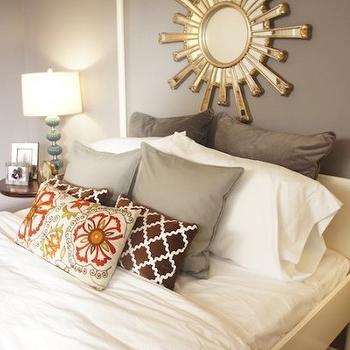 Ikea Headboard, Contemporary, bedroom, Turquoise LA