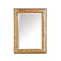 Product Details, Gold Mosaic Mirror