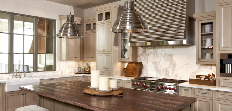 Ora Marble Backsplash  Transitional  kitchen  The Owen Group