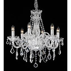 Maria Theresa 6-light Crystal Chandelier - Overstock.com