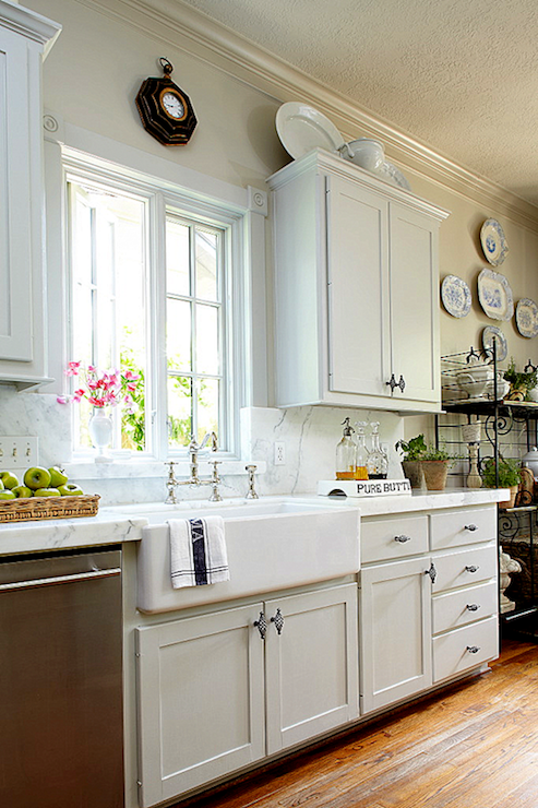 view full size amazing kitchen with gray shaker kitchen cabinets - Delaware Kitchen Cabinets