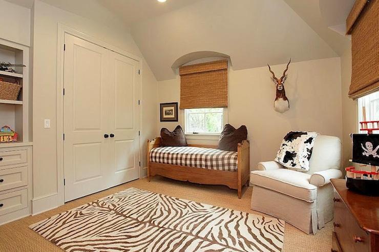 Zebra Bedroom Accessories