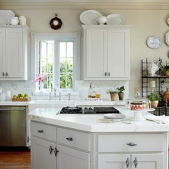 Calcutta Ora Marble, French, kitchen, Cote de Texas