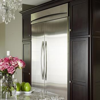 Bianco Antico Granite -Transitional, kitchen, Karen Viscito Interiors