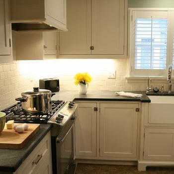 Soapstone Countertops, Transitional, kitchen, Jenny Baines