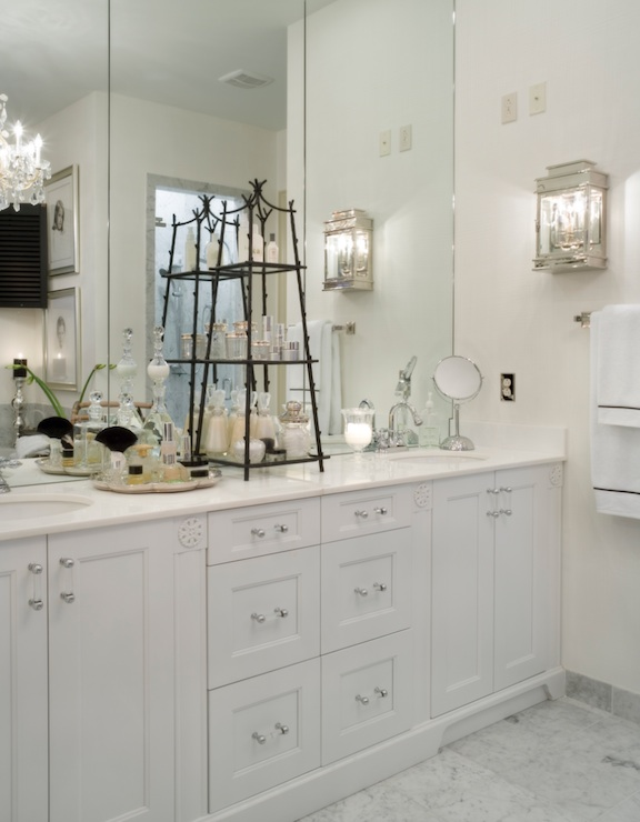 Bamboo Etagere - Traditional - bathroom - Joy Tribout