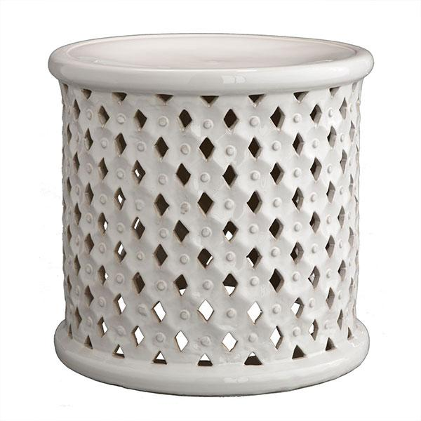 Wisteria Stools Magnificent Pattern Stool  Stools & Ottomans  Wisteria Decorating Inspiration