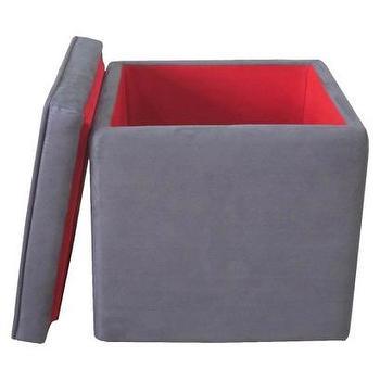 Storage Ottoman Grey : Target