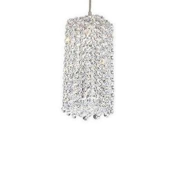 Refrax Clear Monorail Pendant, Mini by Edge Lighting for $161.6