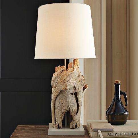 Driftwood table lamp west elm tall driftwood table lamp west elm mozeypictures Image collections